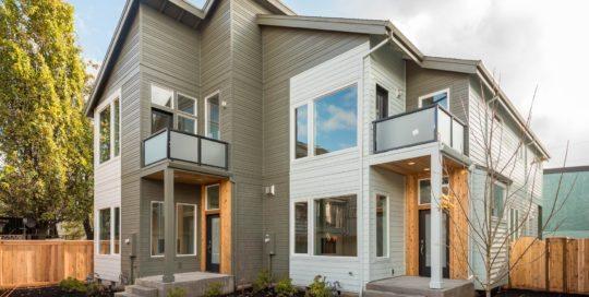 60 + 62 NE Graham St Portland home exterior